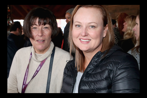 Mary Callery and Tracey Vieira at We Are UK Film reception, Sundance 2016